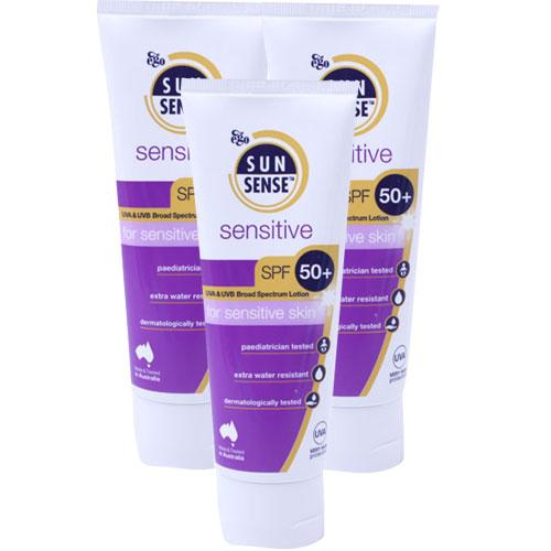 Sunsense Sunsensitive SPF50+ Triple Pack