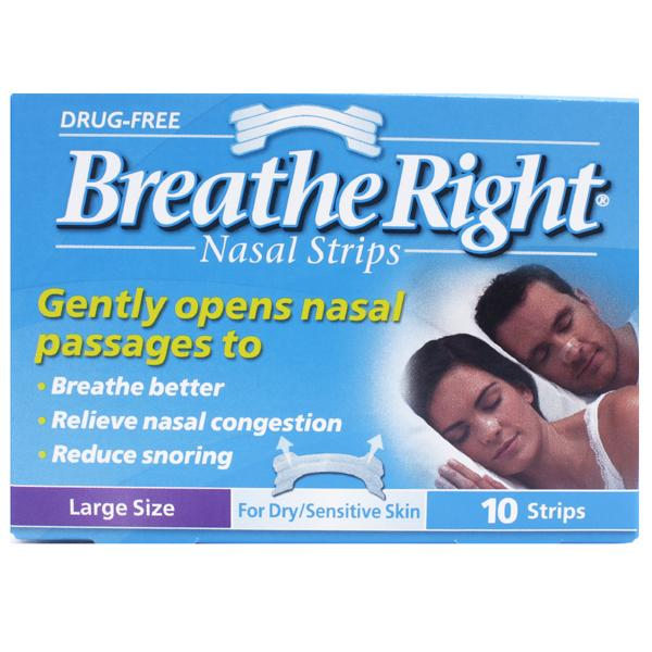 Breathe Right Nasal Strips Clear