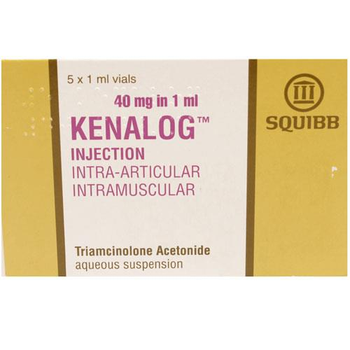 Kenalog Injection 40mg in 1ml