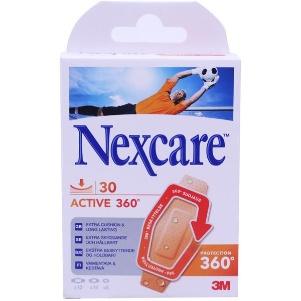 Nexcare Active 360 Assorted Strips