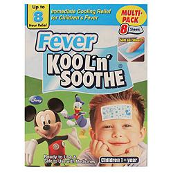 Fever Kool N Soothe 8 Sheets