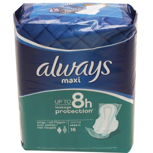 Always Maxi Normal Plus Towels