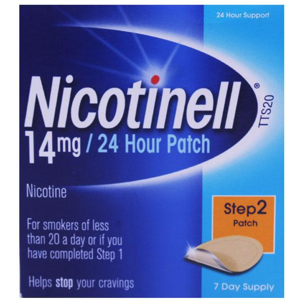 Nicotinell 14mg 24 Hour Patch Step 2