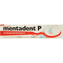 Mentadent P Toothpaste Mentadent Toothpaste Toothpaste