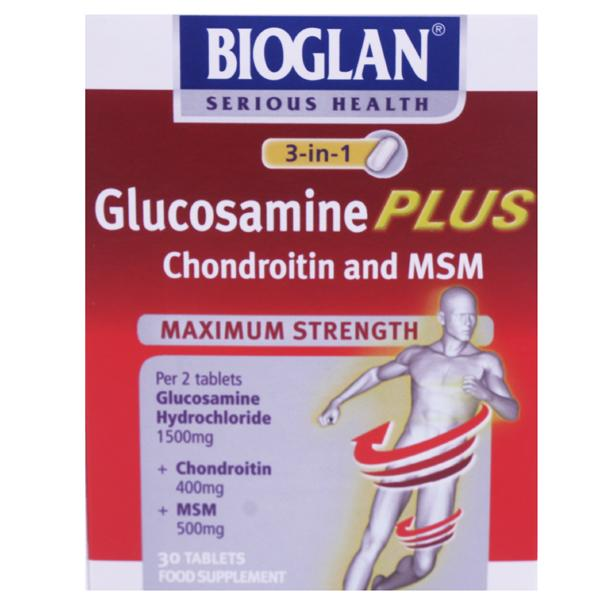 Bioglan Glucosamine Plus Tablets