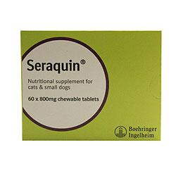Seraquin 800mg for Cats and Small Dogs with Chondroitin