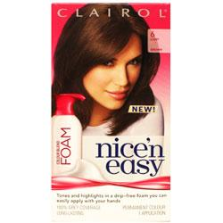 Clairol Nice'n Easy Foam 6 Light Brown