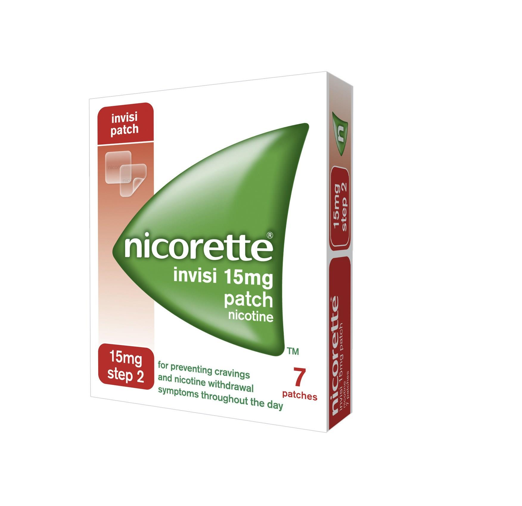 Nicorette Invisi Patch 15mg Step 2