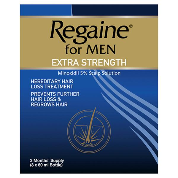 Regaine Extra Strength For Men Triple Pack