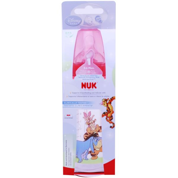 NUK Disney First Choice Bottle Red 300ml