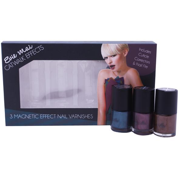 Evie Mai Magnetic Effect Nail Varnishes