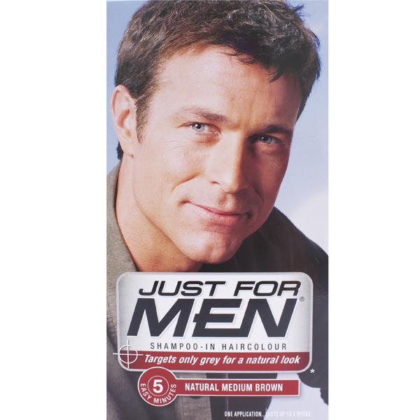 Just For Men H35 Shampoo-in Hair Colorant Medium Brown