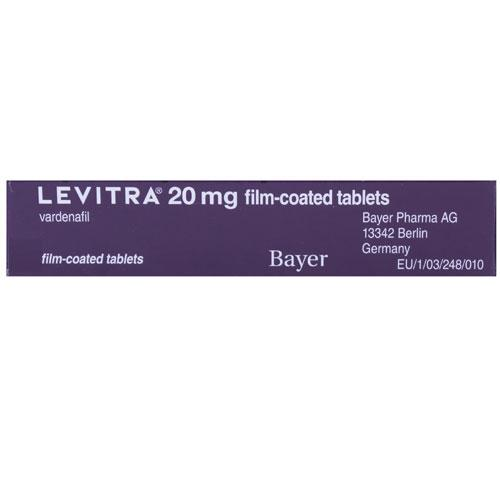 Can levitra be taken with food