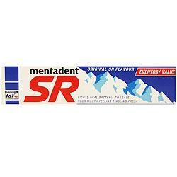 Mentadent SR Toothpaste 12 packs