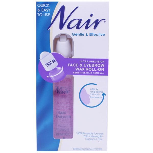 Nair Face & Eyebrow Wax Roll-On