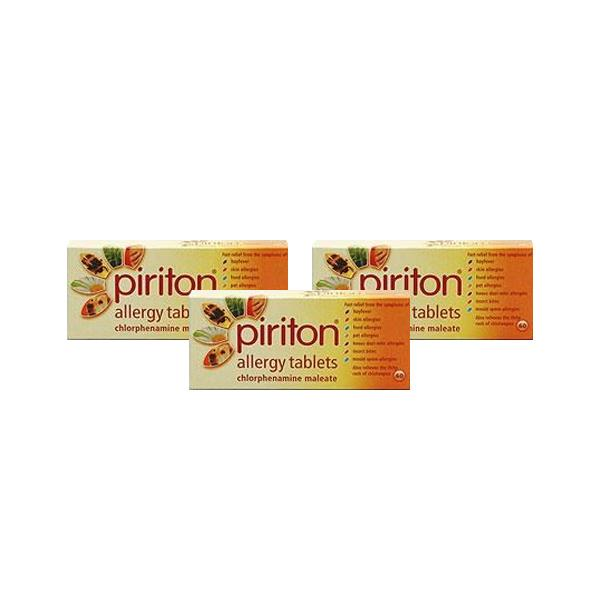 Piriton Allergy Tablets Triple Pack