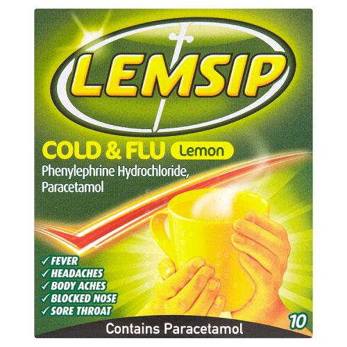 Lemsip Cold & Flu Original Lemon
