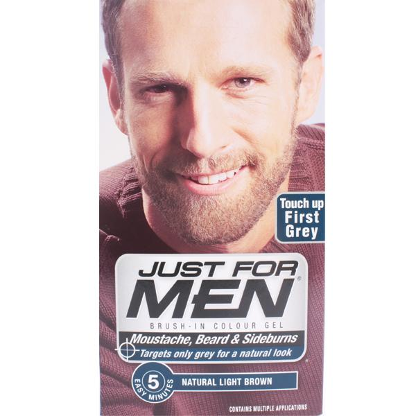 Just For Men M25 Moustache Beard And Sideburns Light Brown