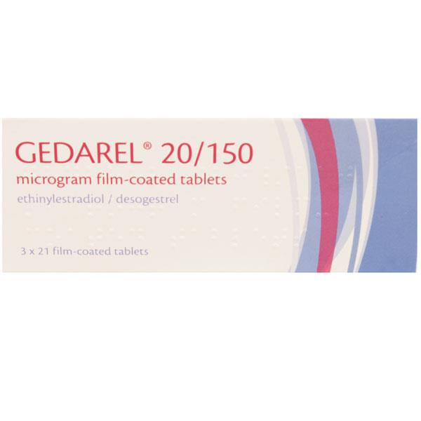 Gedarel 20/150 Microgram Film Coated Tablets