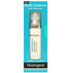 Neutrogena Multi Defence Daily Moisturiser Normal To Combination