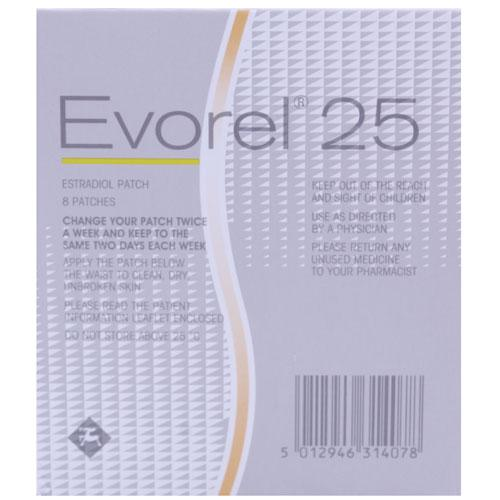 Evorel 25 Patches