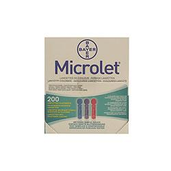 Bayer Ascensia Microlet Lancets