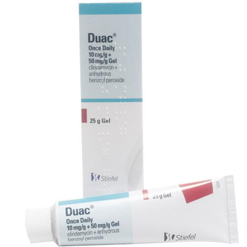 What is duac topical gel