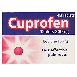 Cuprofen Tablets 200mg