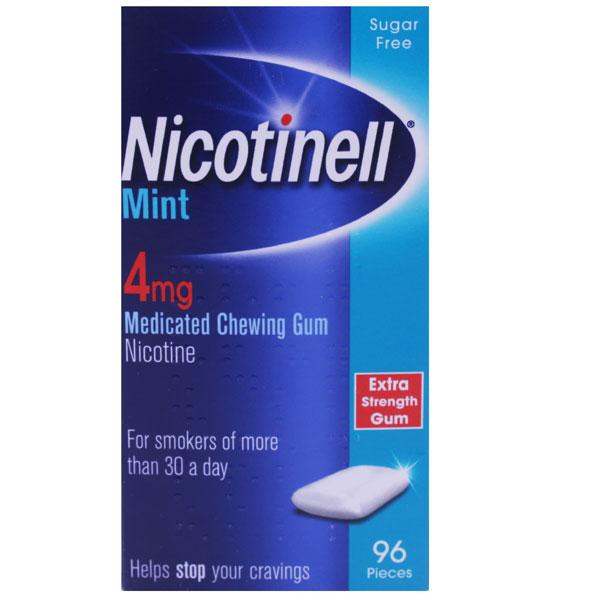 Nicotinell Mint Chewing Gum 4mg