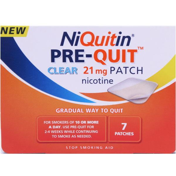 NiQuitin Pre-Quit 21mg Patch