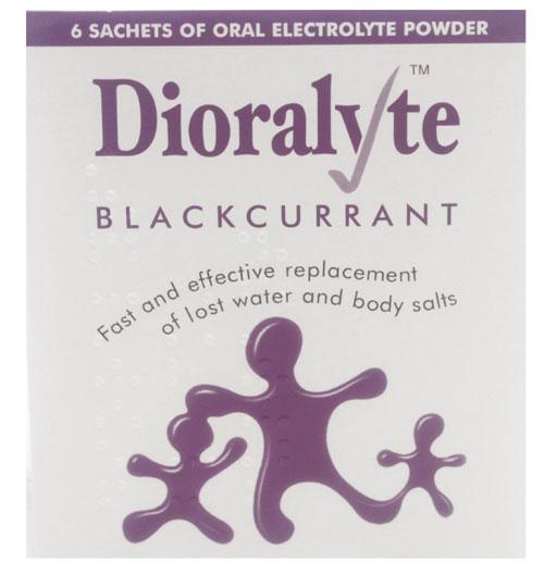 Dioralyte Blackcurrant Sachet