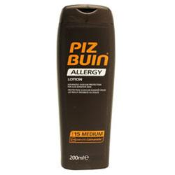 Piz Buin Allergy Lotion SPF 15 Medium Protection