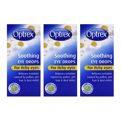 Optrex Itchy Eye Drops Triple Pack