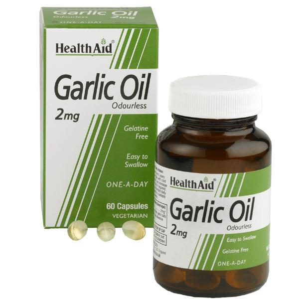 HealthAid Garlic Oil Odourless 2mg
