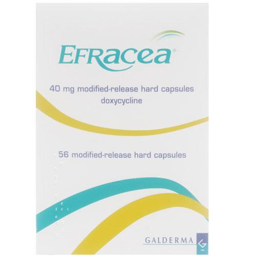 Efracea Doxycycline As Monohydrate 40mg Capsules