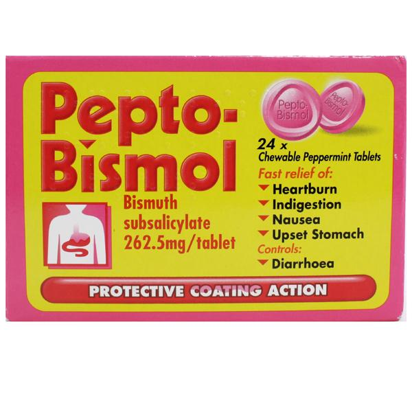 how to open pepto bismol tablets