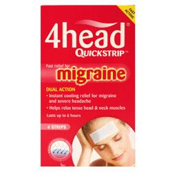 4Head Quickstrip Migraine Relief