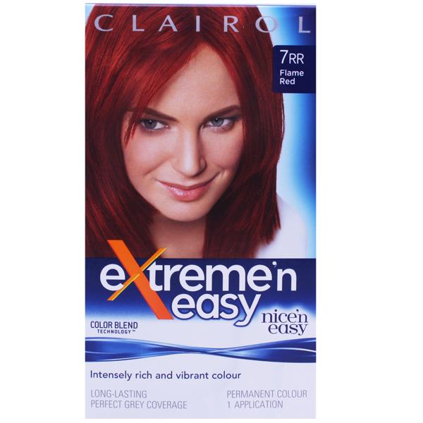 Clairol Extreme N Easy 7RR Flame Red
