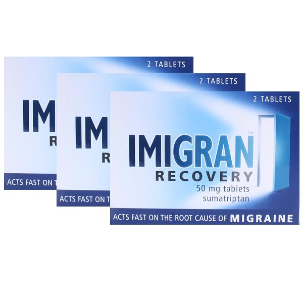 Imigran Recovery Tablets Triple Pack