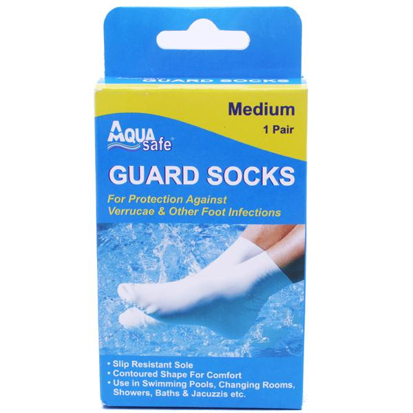 AquaSafe Guard Socks Medium