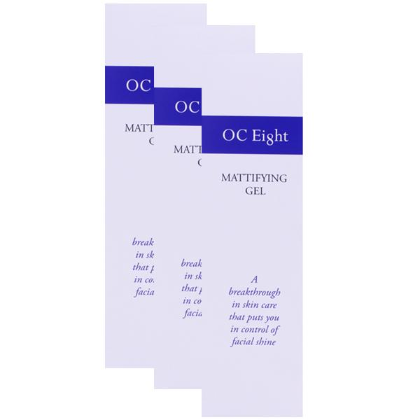 OC Eight (OC8) - Mattifying Gel Triple Pack