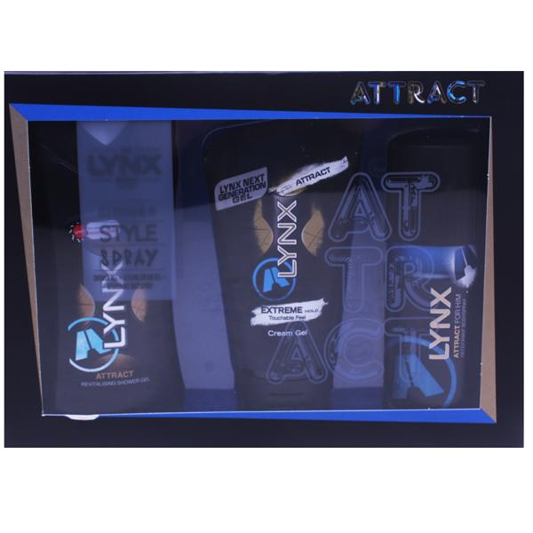 Lynx Attract Hair Trio Gift Set