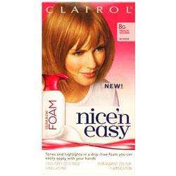 Clairol Nice'n Easy Foam 8G Medium Golden Blonde