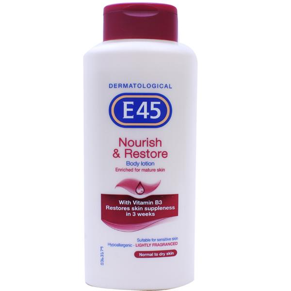 E45 Nourish & Restore Body Lotion
