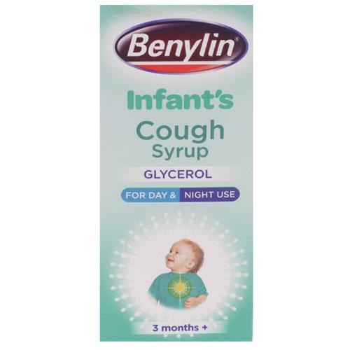 Benylin Childrens Apple Flavour Cough Syrup