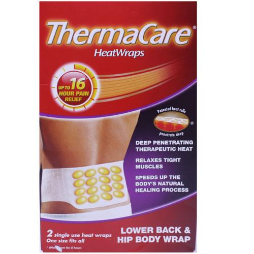 ThermaCare Theraputic HeatWraps Back