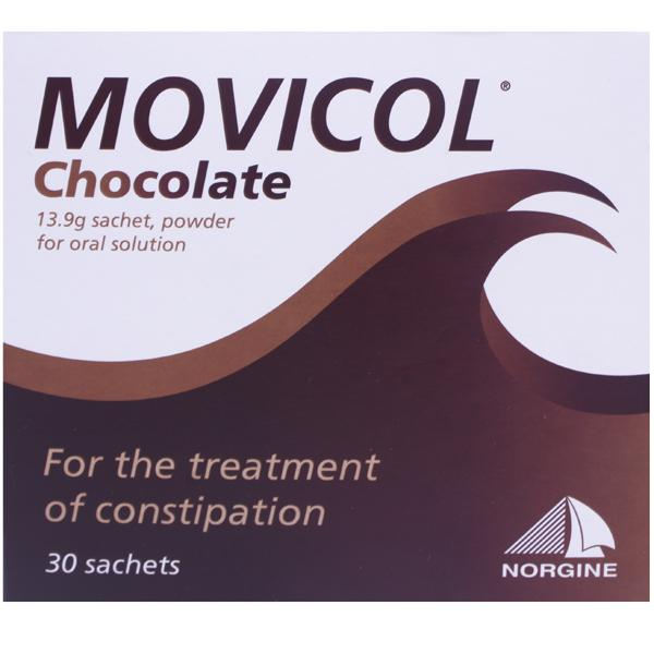 Movicol Chocolate Powder Sachets