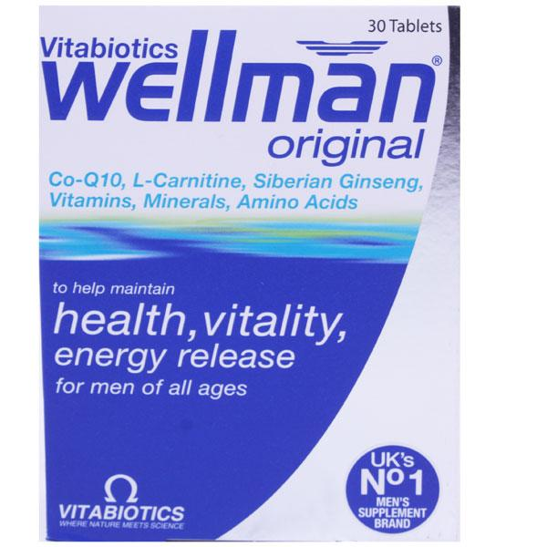 Wellman Essential Nutrients Tablets  - from Vitabiotics