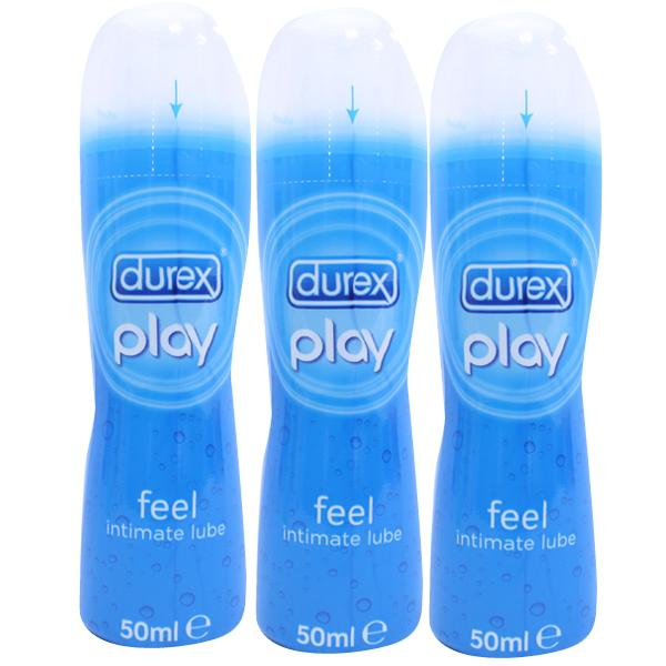 Durex Feel Play Pleasure-Enhancing Lubricant Triple Pack