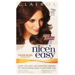 Reminder for Clairol Nice'n Easy 116A Natural Light Golden Brown : All
